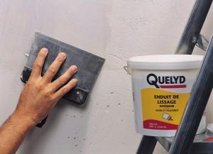 Préparation des murs