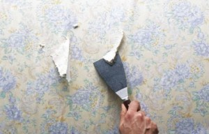 decoller le papier peint